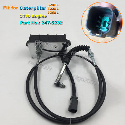 Throttle Motor For Caterpillar Excavator Cat 320bl 322bl 325bl 3116 3126 Engine