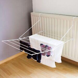 tendoir de linge 6 m chauffage balcon s che linge. Black Bedroom Furniture Sets. Home Design Ideas