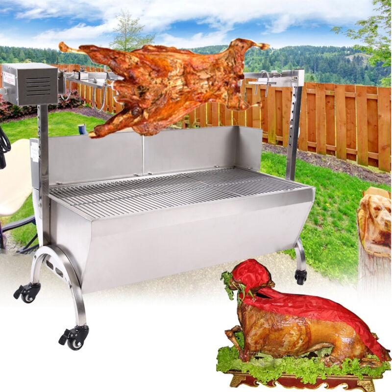 Large Spit Roaster Rotisserie Pig Lamb Roast BBQ Grill Porta
