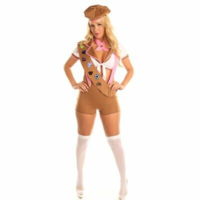 Sexy Scout Role Play Costume Set Thanksgiving Christmas Suits Cosplay for Teen G - Fun Costumes For Teens