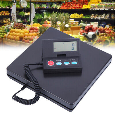 Digital Weight Electronic Postal Parcel Scale Platform Led Screen 110lbs