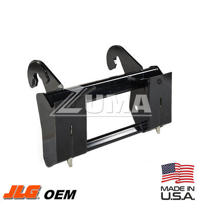New Jlg Telehandler Skid Steer Adapter Plate - Jlg Part 1001099425 1001102332