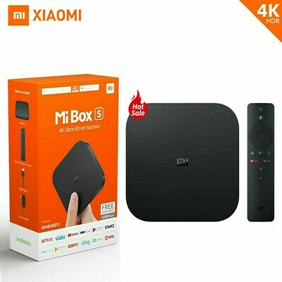 Xiaomi Mi Box S Android 9 Media Player 4K HDR TV Box 8GB WiFi Google Assistant