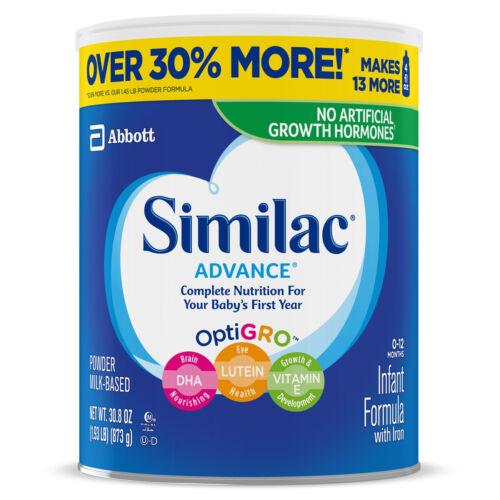 Similac Advance Infant Formula with Iron Powder - 30.8 oz-3pk