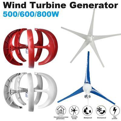 500W 600W 800W 12/24V Home Horizontal Wind Turbine Generator Charge Controller