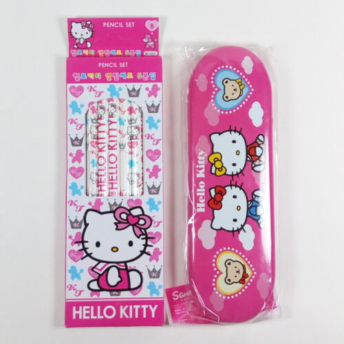 Sanrio Hello Kitty Stationery Set #3 Pencils Pencil Case A13