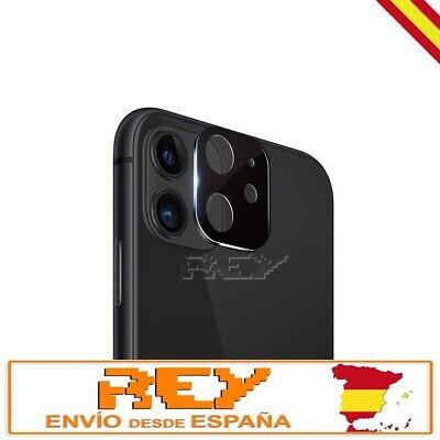 Protector Lente Camara 3D 5D IPHONE 11 Cristal Templado Vidrio Plateado p1416