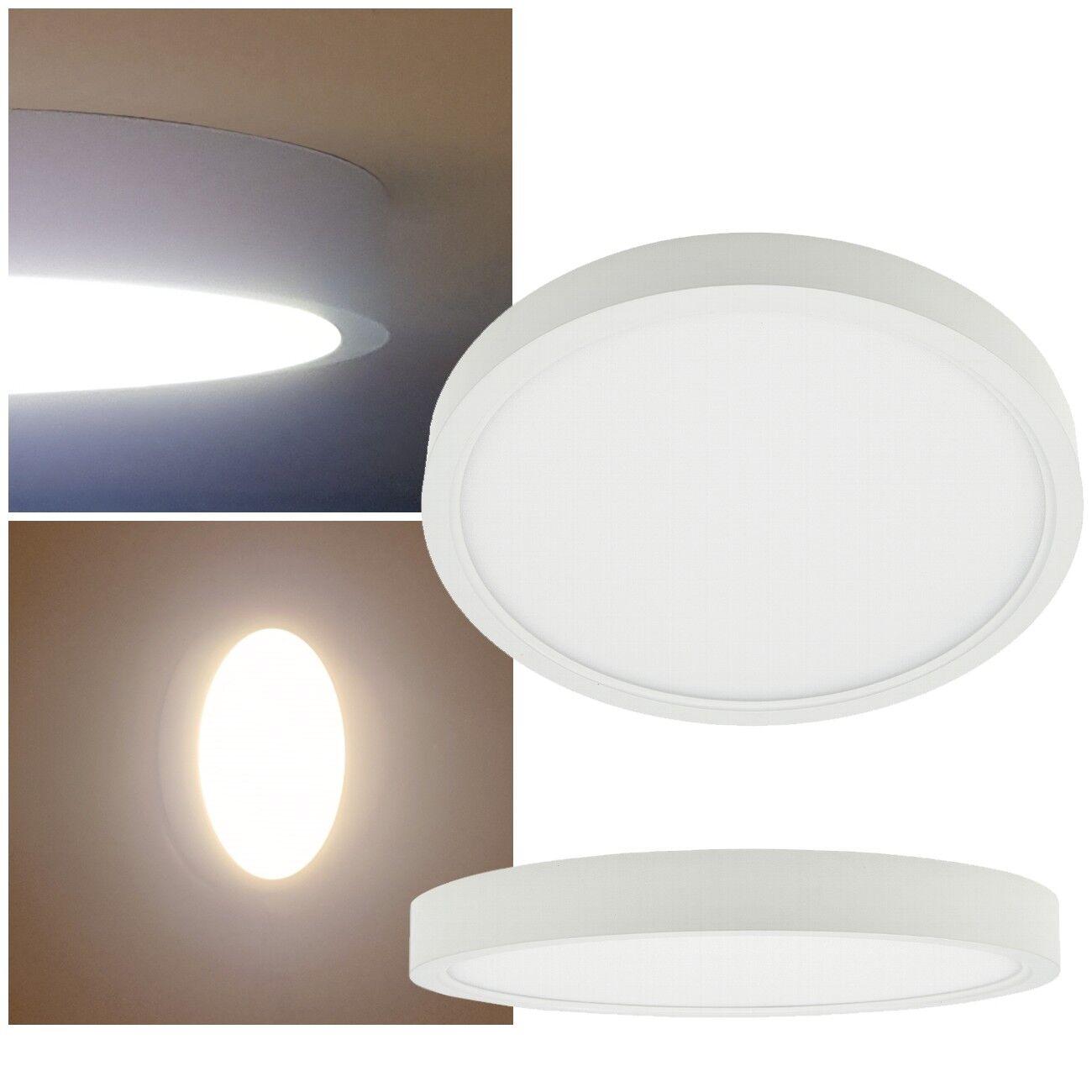 slim LED Deckenleuchte flach 230V IP20 EEK: A+ Wand-Leuchte Decken-Lampe