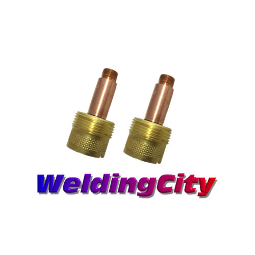 "2-pk TIG Welding Large Gas Lens Collet Body 995795 1/8"" Torch 17/18/26 US Seller"