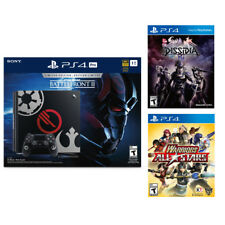 PlayStation 4 Pro 1TB Star Wars Console+Final Fantasy Dissidia+Warrior All Star