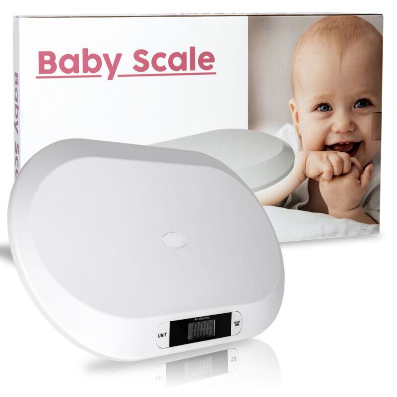 20kg / 44lb Capacity Digital Pet Baby Newborns Weighing Scale LCD Display ABS US