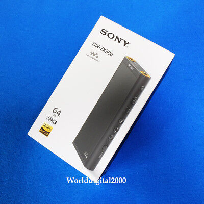 Sony Walkman NW-ZX300 -Black (64GB) Digital Media Player 12 Languages Selectable