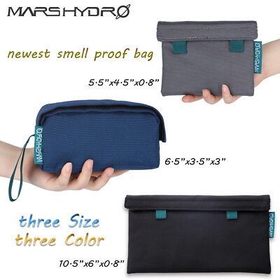 Mars Hydro Smell Proof Bag Dog Tested Storage Bag Smoker Stash Container