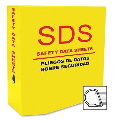 """Aurora D-Ring SDS-2 5.0"""" Binder Yellow 13088"""