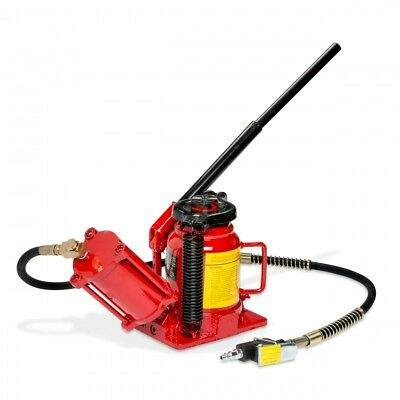 - 20 Ton Bottle Jack Lift Air Manual Pneumatic Hydraulic Low Profile RV Truck