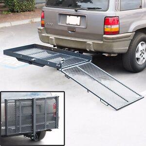 Hitch Mount Wheelchair Carrier Ebay