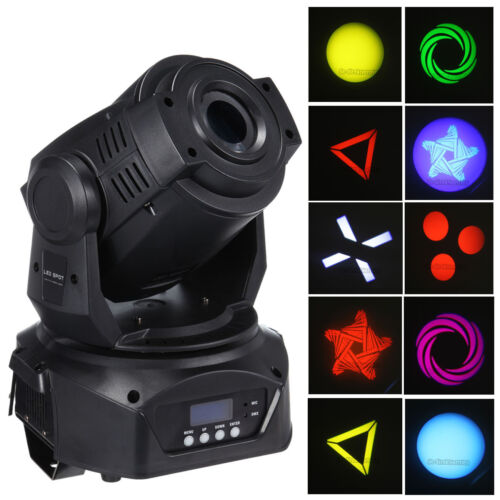 30w Led Moving Head Light Beam 6 Gobos Bars Light Culb Ktv Rooms Lamp Lighting