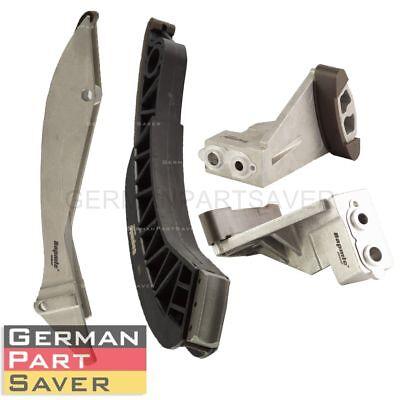 New Timing Chain Guide Rail KIT 4pcs For BMW E60 545 550 E65 745 750 E53 E70 X5 ()