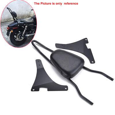 Detachable Sissy Bar Backrest Cushion Pad For Harley DavidsonXL1200C/R/S XLH883