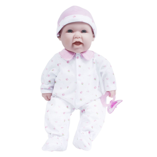 16 inch La Baby Soft Body Baby Doll - Bird Applique