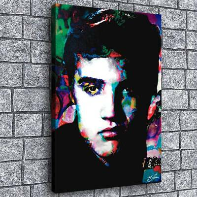 """Elvis Presley 24""""x34"""" Home Decor Room HD Canvas prints Picture Wall art Painting"""