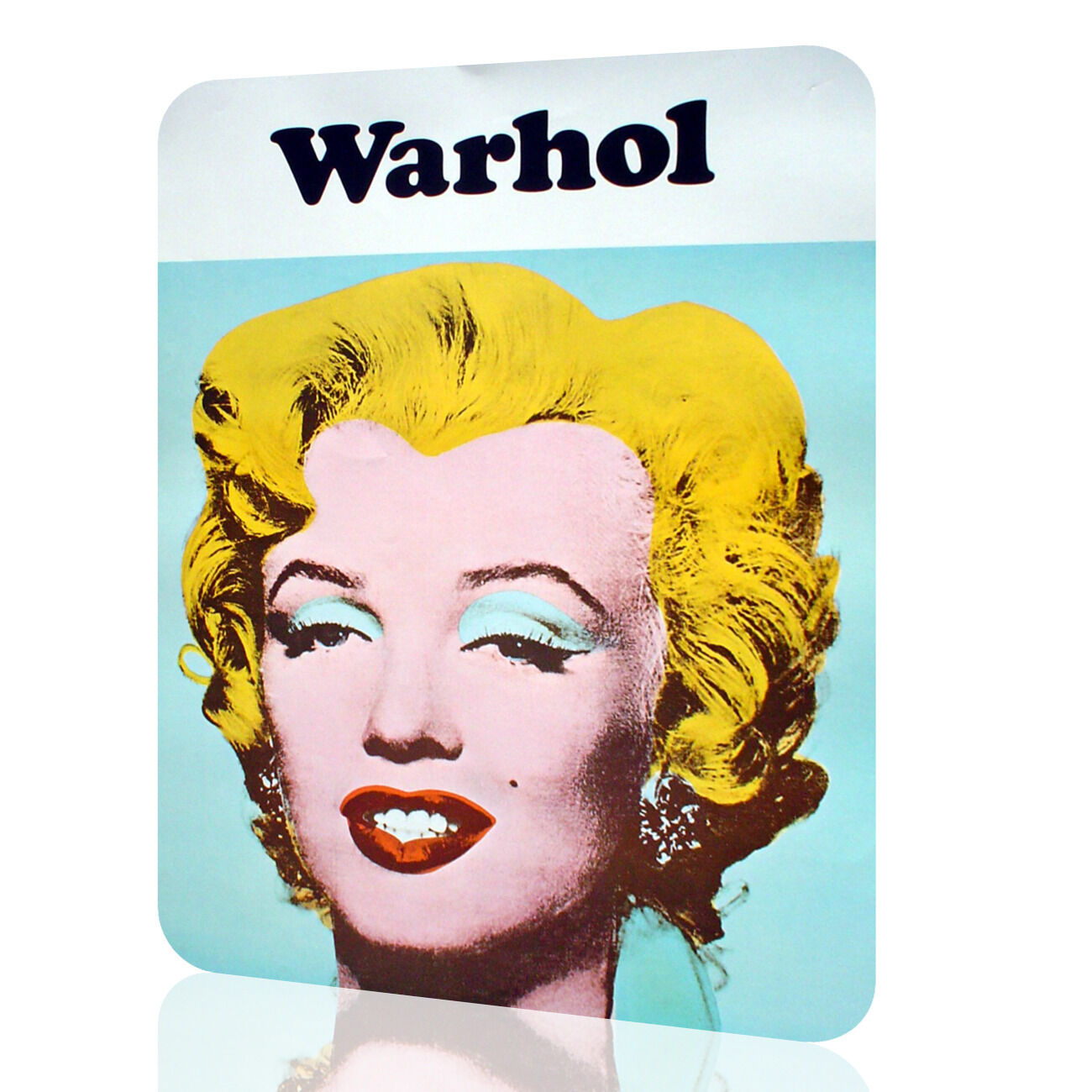 METAL TIN SIGN Marilyn Monroe Andy Warhol Vintage Wall Art Home ...