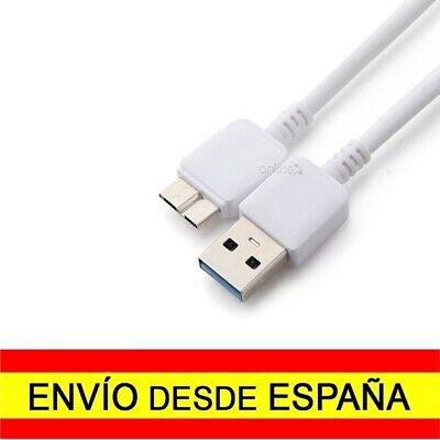 Cable USB 3.0 macho micro USB tipo B 3.0 macho Blanco Carga...