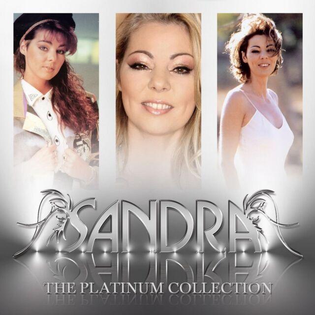 "SANDRA ""PLATINUM COLLECTION"" 3 CD NEU"