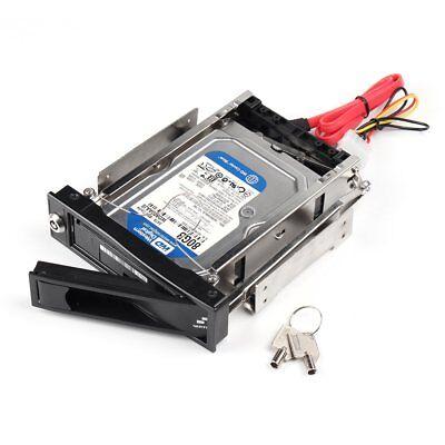 """5,25"""" SATA I/II/III HDD Festplatten Wechselrahmen 3,5 Zoll SATA Einbaurahmen"""