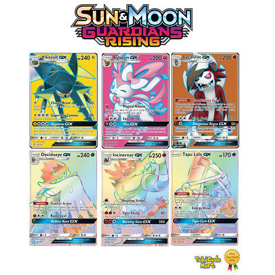 Pokemon Guardians Rising Card Singles: Full Art, Rainbow Rare & Secret Rare /145
