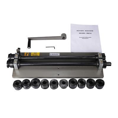 18 Sheet Metal Bead Roller Rolling Tool Rotary Machine Metalworking Equipment