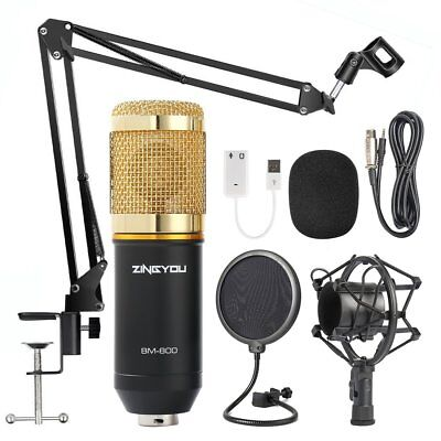 Twitch Mic Streaming Microphone Podcast Equipment Kit Youtube Channel Setup