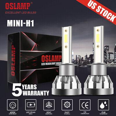 H1 LED Headlight 2000W 300000LM High Beam or Fog Light Bulb 6000K Xenon White