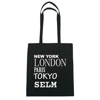 York, London, Parigi, Tokyo Sperti - Borsa Di Iuta Borsa - Colore: Nero Nero-  - ebay.it