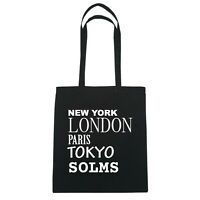 York, London, Parigi, Tokyo Solms - Borsa Di Iuta Borsa - Colore: Nero Nero-  - ebay.it