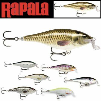 RAPALA BALSA WOOD CASTING & TROLLING LURE SHALLOW SHAD RAP SSR07 ()