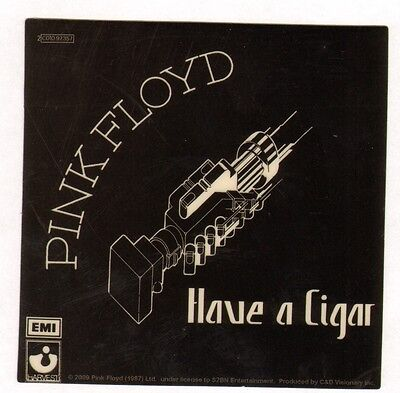 Pink Floyd Sticker Licensed Have a Cigar Stop buying bootlegs