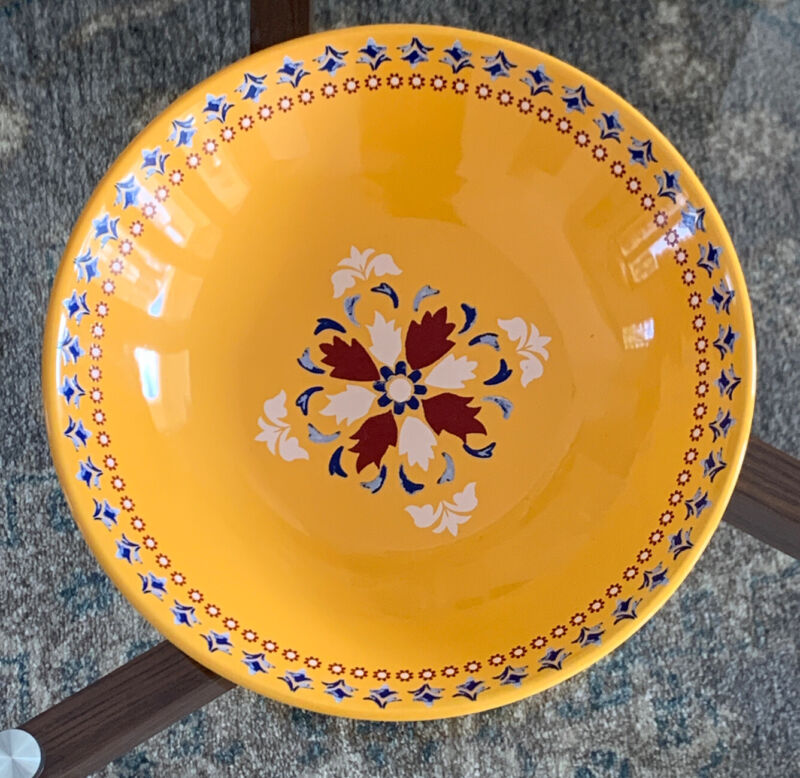 Martha Stewart Collection La Dolce Vita Yellow Dinner Bowl