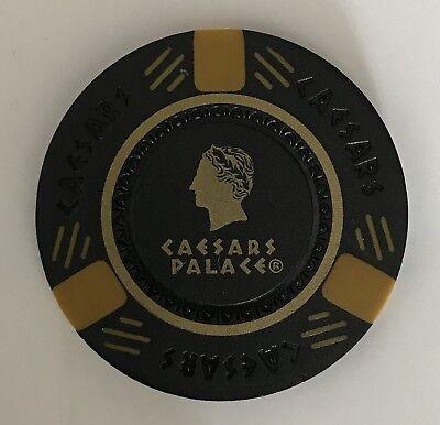 Caesars Palace Black Gold Chip Casino Las Vegas Poker - Black Gold Casino