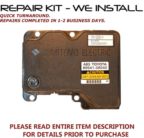REPAIR kit for 01 02 03 Toyota Sienna ABS Pump Control Module >WE INSTALL<