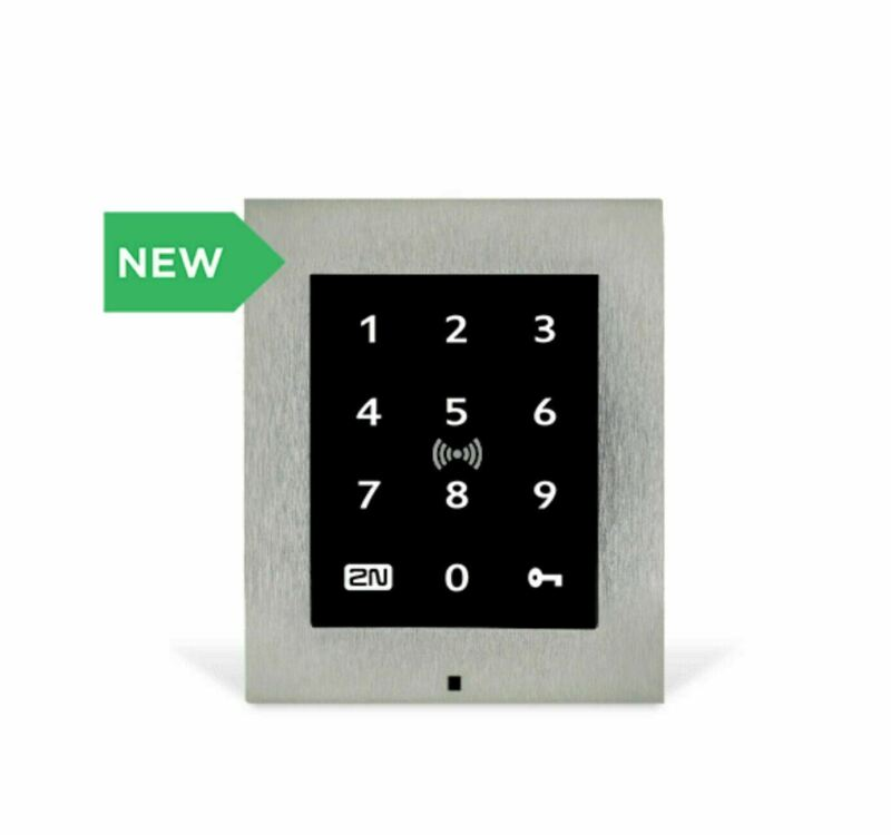 2N Touch Keypad & RFID Reader access control unit Secured 13.56mhz 1638-001