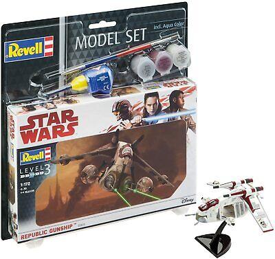 Revell 63613 Modellbausatz Star Wars Model Set 1:172 Republic Gunship im Maßstab