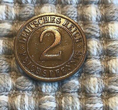 2 Reichspfennig von 1925 E / Deutsches Reich