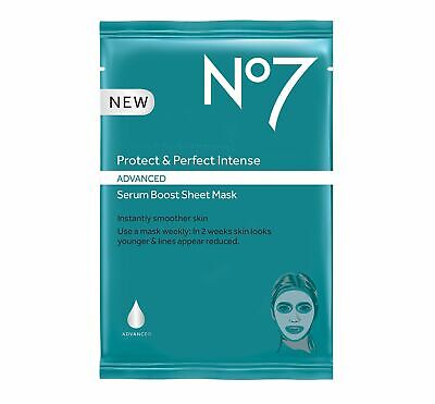 Boots No7 Protect and Perfect Intense Advanced Serum Boost Sheet (Boots No 7 Protect And Perfect Intense Serum)
