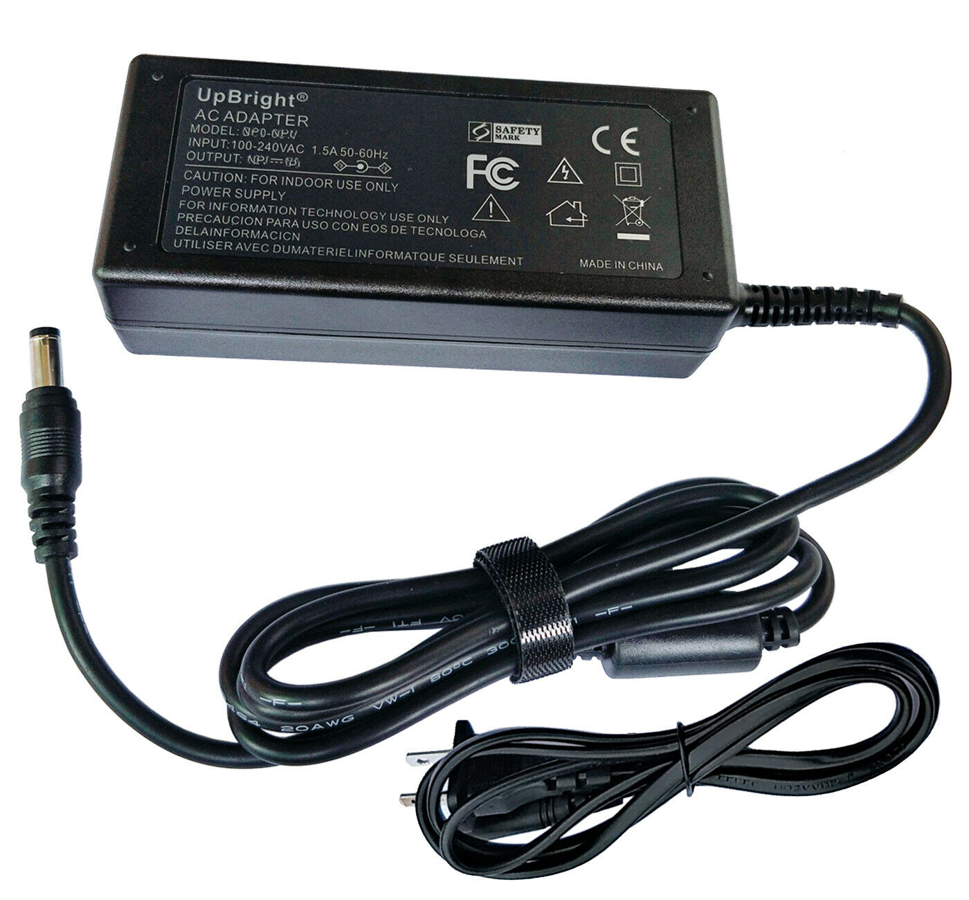 AC Adapter For LG Electronics Full HD LCD LED Monitor 19V Po