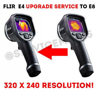 Flir E4 E5 E6 Camera Upgrade To E8 Service 320x240 Resolution Menu