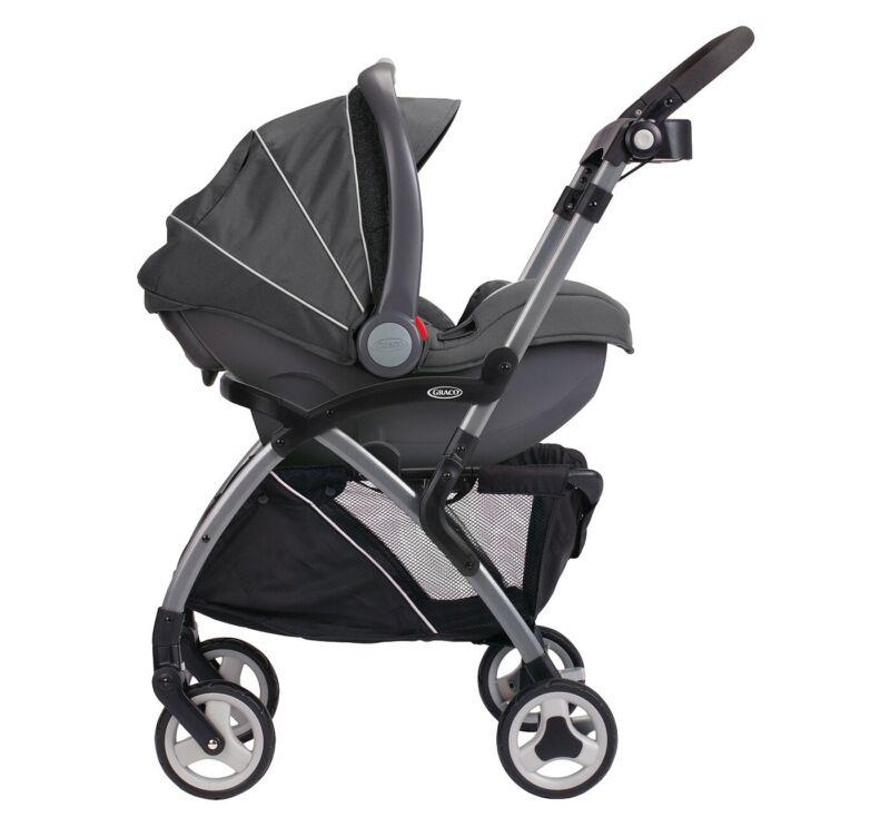 Graco Baby SnugRider Elite Infant Car Seat Frame Stroller - Black