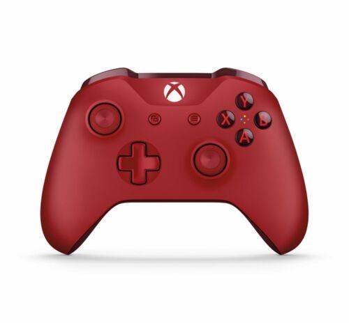 Genuine Microsoft Xbox One Red Wireless Bluetooth Controller
