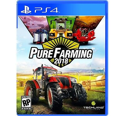 Pure Farming 2018: Day One Edition for PlayStation 4 NEW SEALED Maximum Games