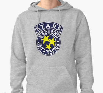 BRAND NEW* S.T.A.R.S RESIDENT EVIL (M) UNISEX HOODIE